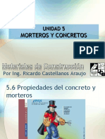 Morteros y concretos