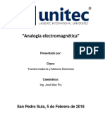 Analogía electromagnética