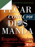 Pecar Como Dios Manda - Eugenio Aguirre