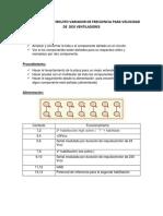 Informe Final de Circuito Variador de Frecuencia Para Velocidad de Dos Ventiladores
