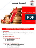 C. Estructuras de Mercados