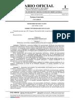 Publicación Diario Oficial Ley 21.094 Sobre Universidades Del Estado