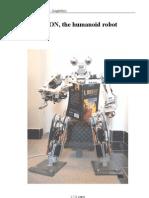 SIMON the Humanoid Robot