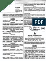 Reglamento General de Aranceles Modificacion 7-05-2012