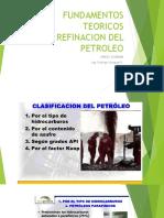 Fundamento Teórico de Refinacion del Petróleo