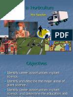 careers in hort