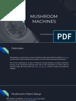 Mushroom Plant Setup| Mushroom Machinery - Mushroom Machines