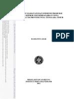 JerukSoE4_Keragaan Usahatani Dan Efisiensi Produksi Jeruk Keprok Soe Berdasarkan Zona Agroklimat Di Provinsi Nusa Tenggara Timur_Adar 2011