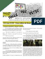 Gazette n°11 Association Grand Parc Pistoletto (Anciennement collectif#SDF)