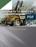 74049543 Equipo de Acarreo en Mineria Superficial