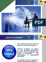 Diapositivas de Calidad y Servcio