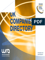 Uk Companies Directory Current Version Publication Version
