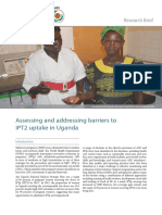 Addressing Barriers to IPT2 uptake in Uganda