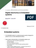 l10 Digital Elecronics and Embedded Systems
