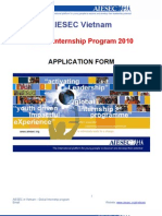 Internship Application Form
