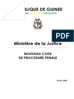 Code Procedure Penale Guinee