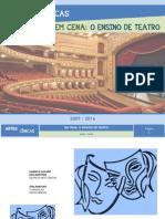 Artes Cenicas Em Cena o Ensino Do Teatro