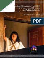 Balance de vulneraciones a los DDHH e infracciones al DIH en el marco del posacuerdo. Colombia. 2018