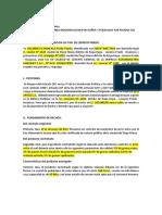 Via CIVIL Modelo Referencial Demanda Por Indemnización