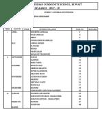 ICSK Syllabus