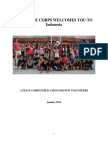 Peace Corps Indonesia Welcome Book 2016 | January