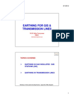 GIS Trans Line Earthing