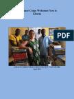 Peace Corps Liberia Welcome Book 2016 | April