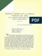 Dialnet  NuestraSenora  de la Capilla Patrona de Jaén
