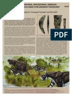 Logchem 2010 - Poster - Milia (Grevena, Macedonia, Greece) - A Dangerous Area for Mammut borsoni.