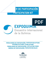 Expoquimia Dossier Participacion