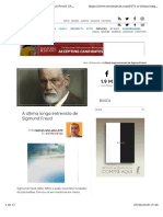Ultima Entrevista Sigmund Freud