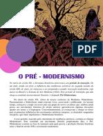 Pré - Modernismo