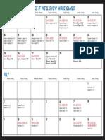 WorldCup Calendar KLEVE2