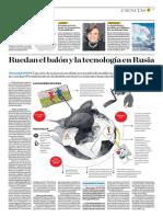 Ruedan El Balón y La Tecnología en Rusia