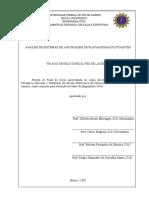 Análise de Sistemas de Ancoragem em Plataformas Flutuantes