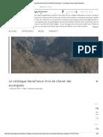Le Catalogue Manufrance Livre de Chevet Des Auvergnats - L'Auvergne Vue Par Papou Poustache