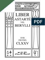 Liber Astarté vel Berylli