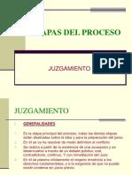 Dr. Fernando Iberico Etapas Del Proceso - Juzgamiento