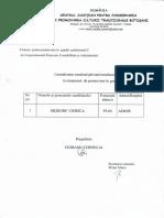 Rezultatul final privind examenul pentru promovarea în grad profesional II – Referent de Specialitate la Compartimentul Financiar Contabilitate şi Administrativ