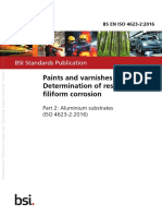 ISO 4623-2-2016 Paints and Varnishes. Determination of Resistance to Filiform Corrosion. Aluminium Substrates