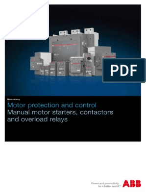 Main Catalog Motor Protection and Control   Relay   Switch on