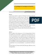 OLIVEIRA, Fernando Bonadia de. a Educação e o Prólogo Da Genealogia Da Moral de Nietzsche