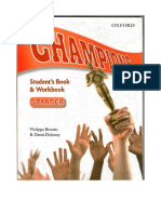 Champions-starter - Student and Workbook