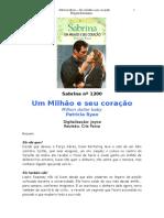 1200 Patricia Ryan - Um Milhão e Seu Coração (Sabrina 1200)