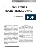 Hrvatovic Vodni Resursi BiH