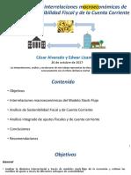 Analsis de La Sotenibilidad Fiscal