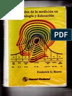 Principios de la medición en Psicología