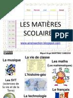 les-matic3a8res-scolaires.ppt