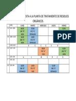 Cronograma de Visita a Ptro