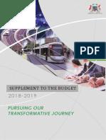 Le Budget 2018-19 dan son integralité